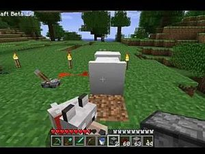 Mod: Add Working Pistons to Minecraft